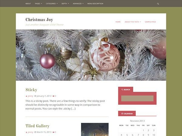 12 top free WordPress themes for winter