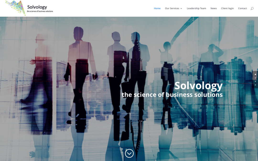 Solvology website goes Live