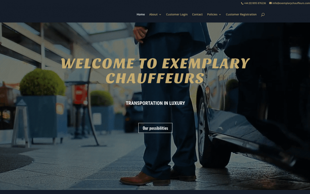 Exemplary Chauffeurs Goes Live