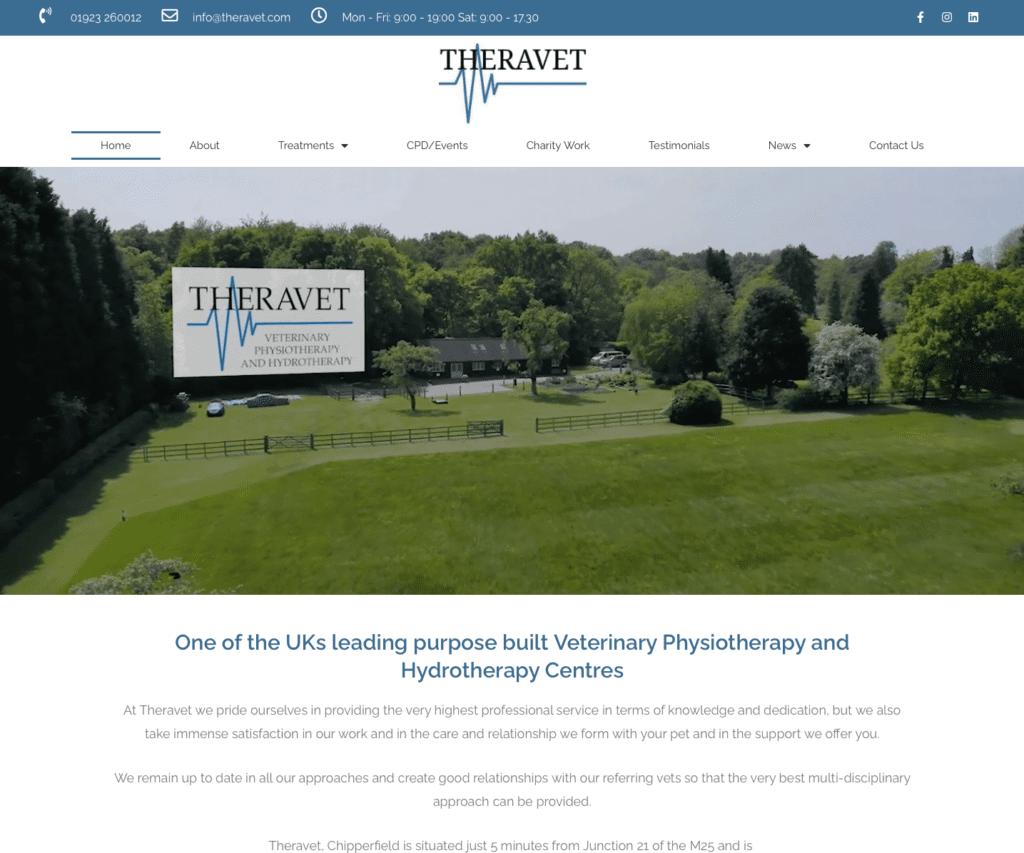 Theravet - Hemel Web Design