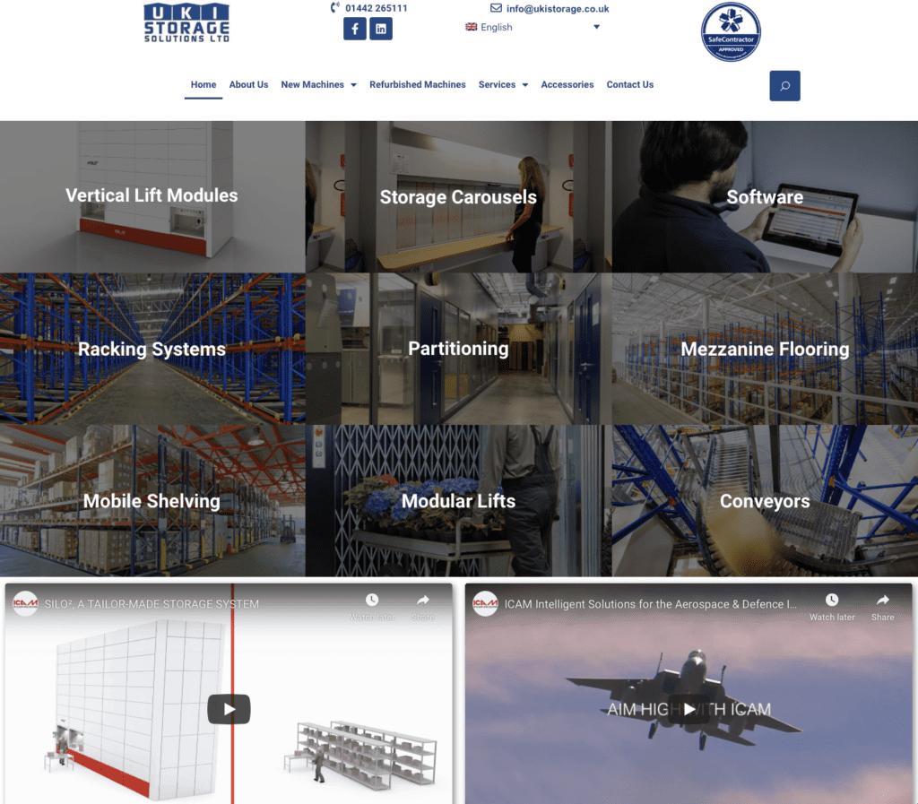 UkI Storage - Hemel Web Design
